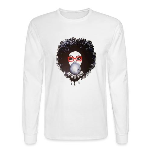 Afro pop_ - Men's Long Sleeve T-Shirt