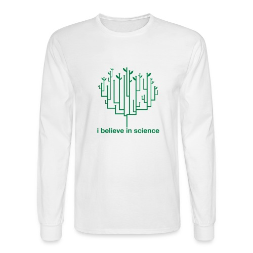 science - Men's Long Sleeve T-Shirt