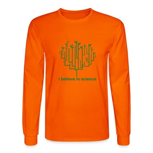 science - Men's Long Sleeve T-Shirt
