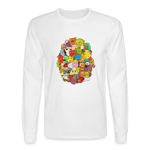 Doodle for a poodle - Men's Long Sleeve T-Shirt