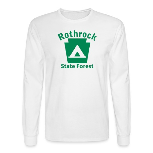 Rothrock State Forest Camping Keystone PA - Men's Long Sleeve T-Shirt