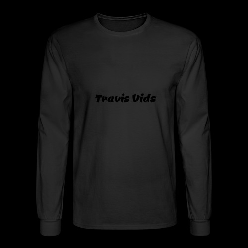 White shirt - Men's Long Sleeve T-Shirt