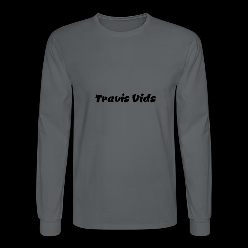 White shirt - Men's Long Sleeve T-Shirt