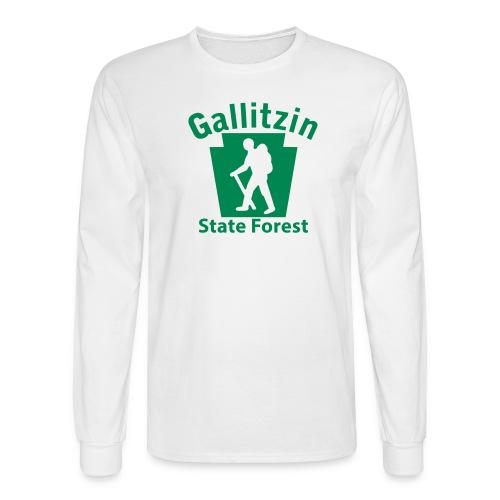 Gallitzin State Forest Keystone Hiker male - Men's Long Sleeve T-Shirt