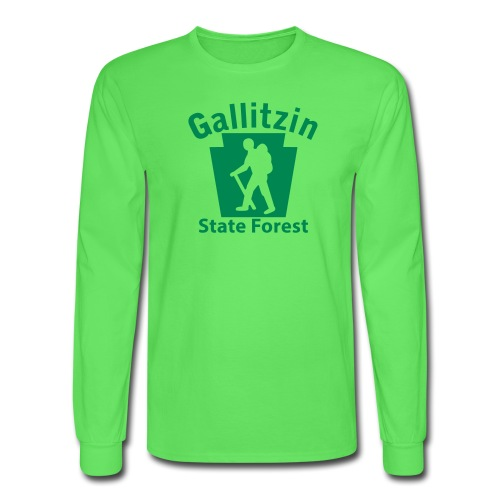 Gallitzin State Forest Keystone Hiker male - Men's Long Sleeve T-Shirt