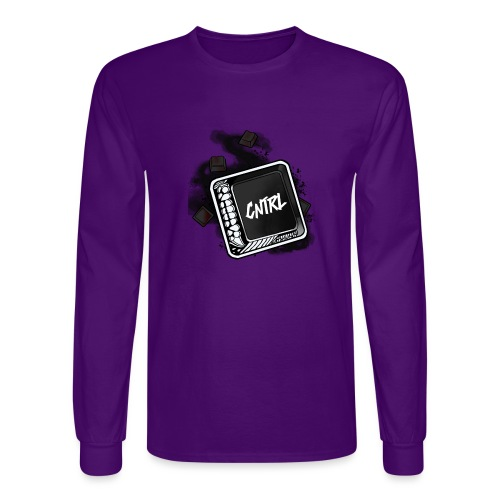 New CNTRL Logo - Men's Long Sleeve T-Shirt