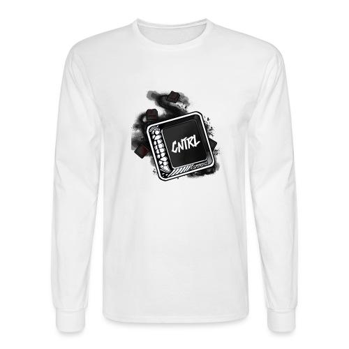 New CNTRL Logo - Men's Long Sleeve T-Shirt