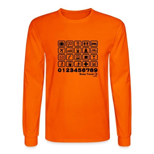 Point in Travel BK - Men's Long Sleeve T-Shirt