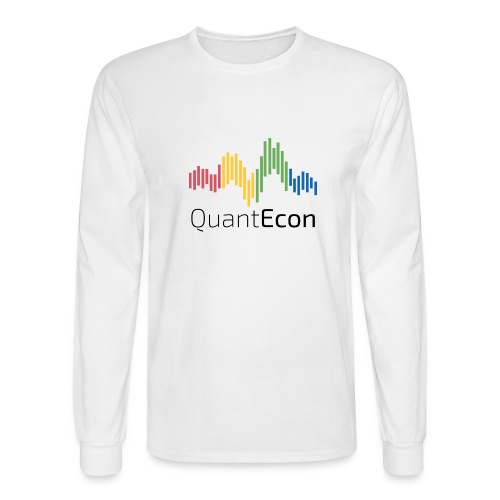 QuantEcon Official Logo - Men's Long Sleeve T-Shirt