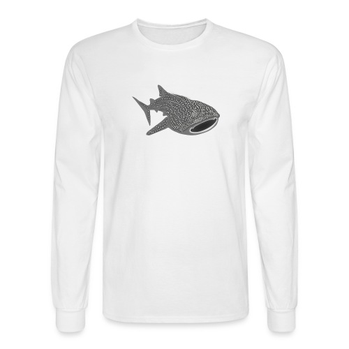 save the whale shark sharks fish dive diver diving - Men's Long Sleeve T-Shirt