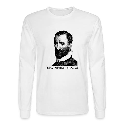 Giovanni Pierluigi da Palestrina Portrait - Men's Long Sleeve T-Shirt