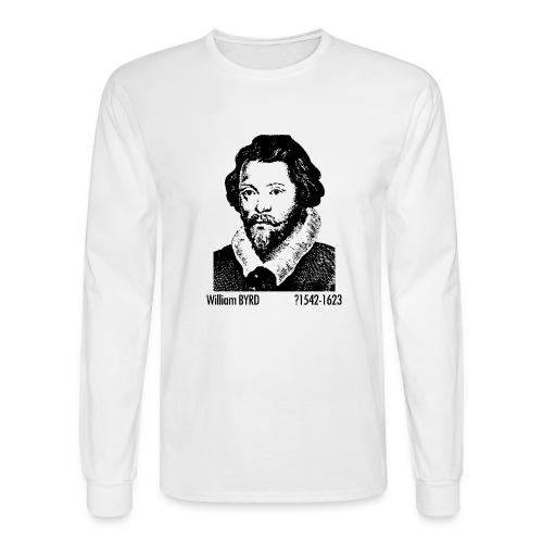 William Byrd Portrait - Men's Long Sleeve T-Shirt