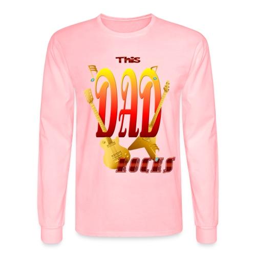 This Dad Rocks! - Men's Long Sleeve T-Shirt