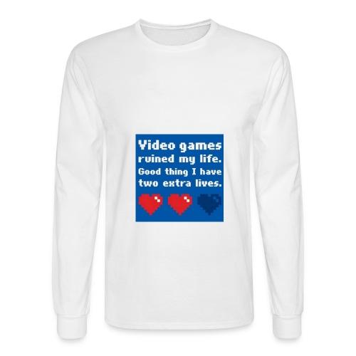 poop jpg - Men's Long Sleeve T-Shirt