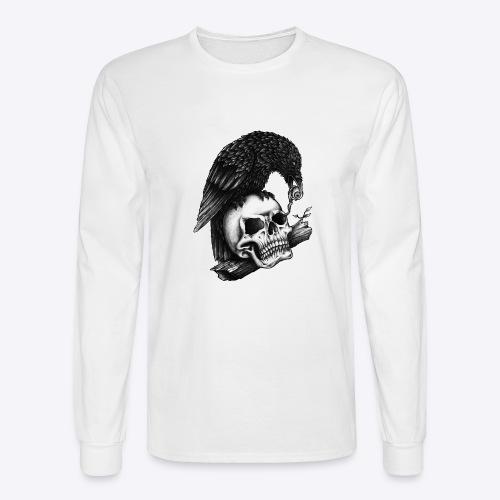 Skull Crow - Men's Long Sleeve T-Shirt