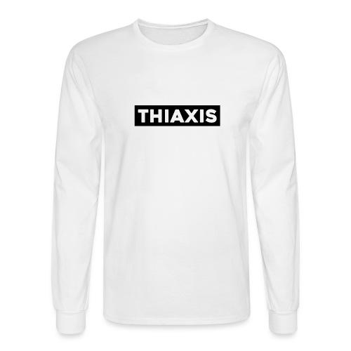 THIAXIS BLACK BAR - Men's Long Sleeve T-Shirt