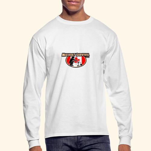 Muskrat Badge 2020 - Men's Long Sleeve T-Shirt