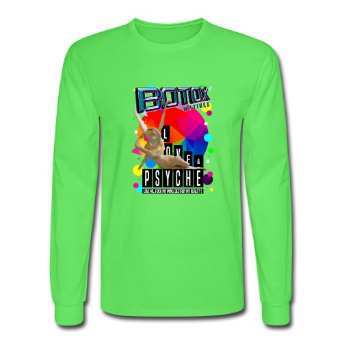 BOTOX MATINEE LOVE & PSYCHE T-SHIRT - Men's Long Sleeve T-Shirt