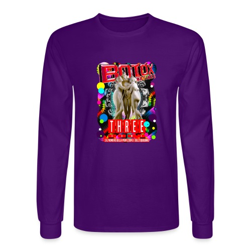 botox matinee threesome t-shirt - Men's Long Sleeve T-Shirt