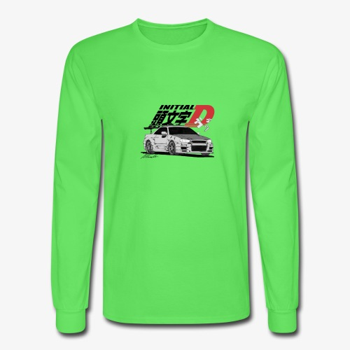 Initial-D Fall Collection: R34 - Men's Long Sleeve T-Shirt