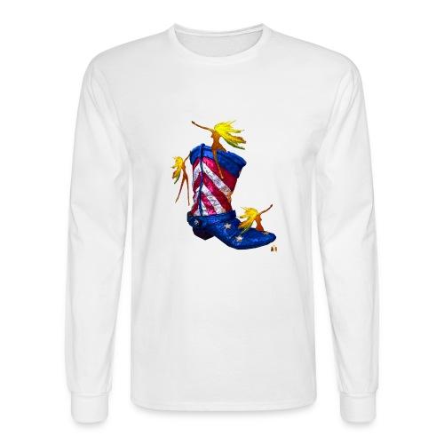 Boot Hoot - Men's Long Sleeve T-Shirt