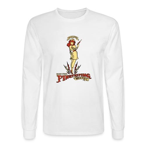 Painless Electric Pinstriping - Men's Long Sleeve T-Shirt
