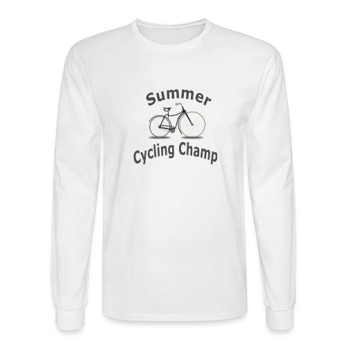Summer Cycling Champ - Men's Long Sleeve T-Shirt