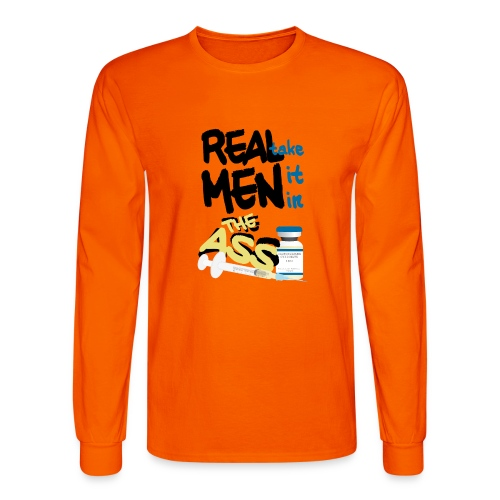 Real Men (FTM) - Men's Long Sleeve T-Shirt