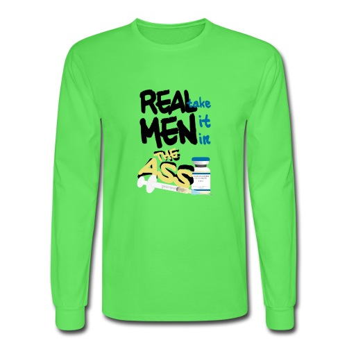 Real Men (FTM) - Men's Long Sleeve T-Shirt