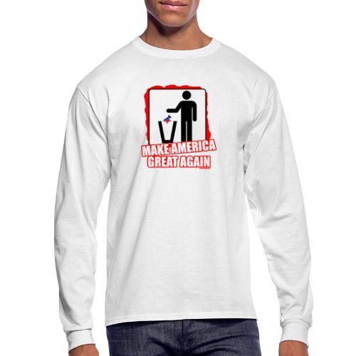 MAGA TRASH DEMS - Men's Long Sleeve T-Shirt