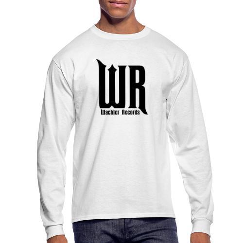 Wachler Records Dark Logo - Men's Long Sleeve T-Shirt