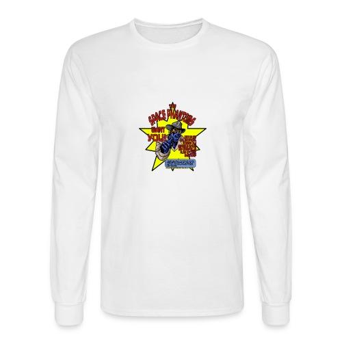 Space Phantom - Men's Long Sleeve T-Shirt