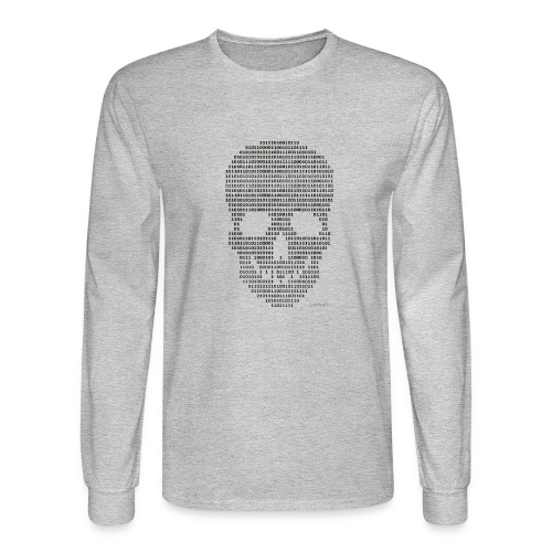 Hacker binary - Mens - Men's Long Sleeve T-Shirt