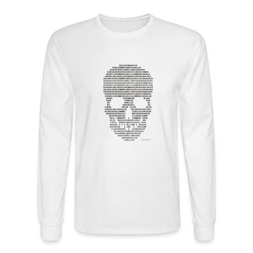 Hacker binary - Mens - Men's Long Sleeve T-Shirt