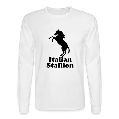Italian Stallion - Men's Long Sleeve T-Shirt