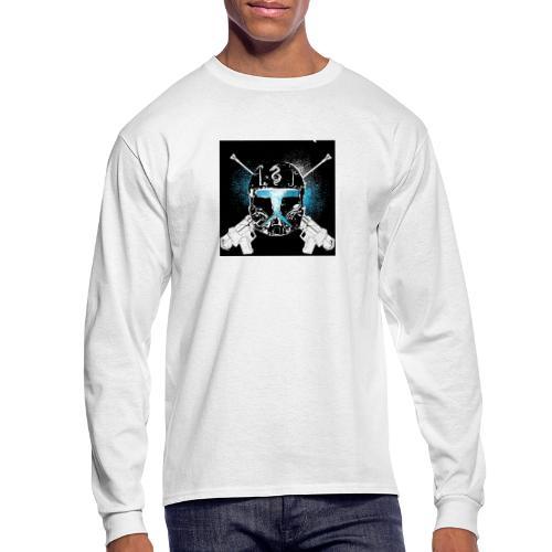 masked guns - Men's Long Sleeve T-Shirt