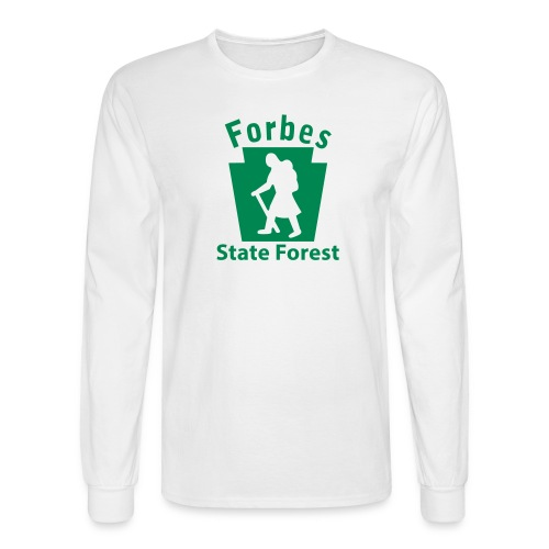 Forbes State Forest Keystone Hiker female - Men's Long Sleeve T-Shirt