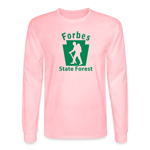 Forbes State Forest Keystone Hiker male - Men's Long Sleeve T-Shirt
