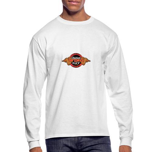 Chicken Wing Day - Men's Long Sleeve T-Shirt