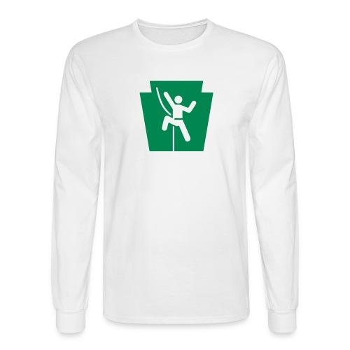 PA Keystone w/Climber - Men's Long Sleeve T-Shirt