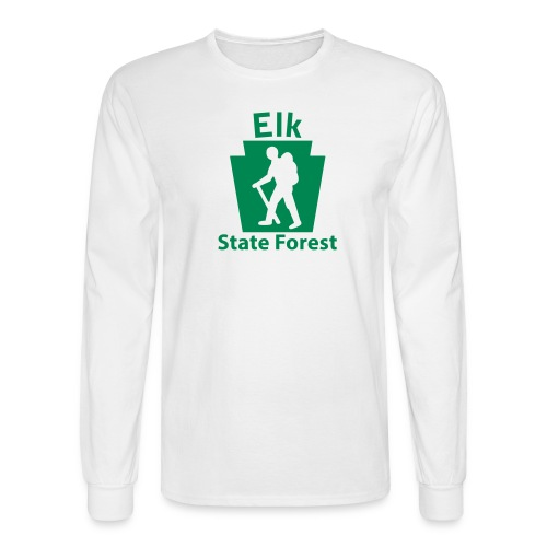 Elk State Forest Keystone Hiker male - Men's Long Sleeve T-Shirt