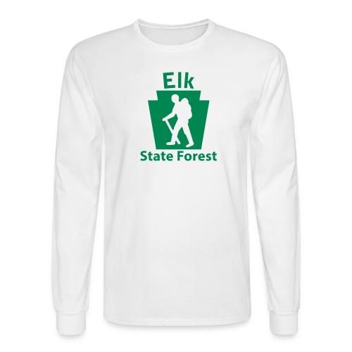 Elk State Forest Keystone Hiker male - Men's Long Sleeve T-Shirt