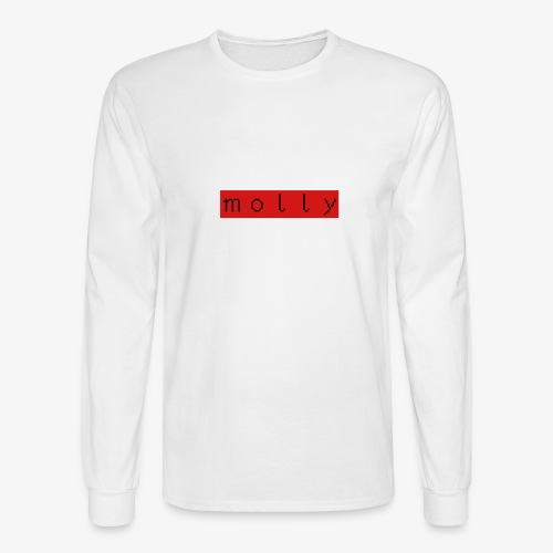 #mollystyle - Men's Long Sleeve T-Shirt