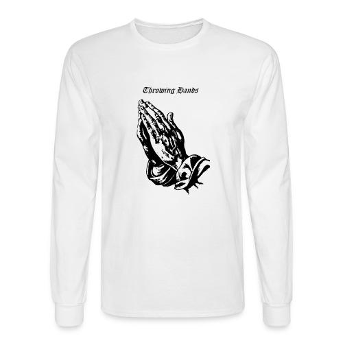 throwinghands - Men's Long Sleeve T-Shirt