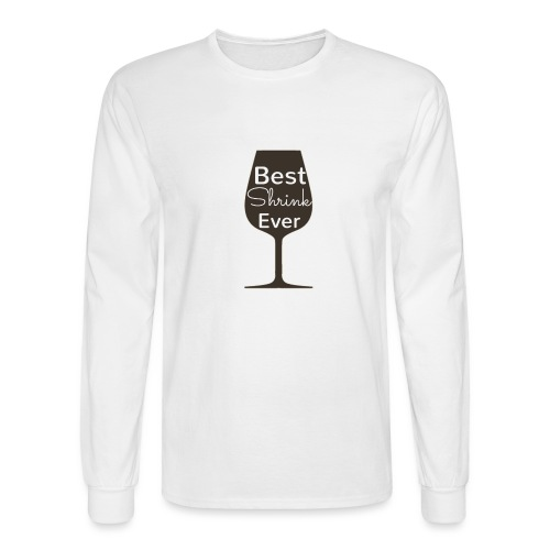 Alcohol Shrink Is The Best Shrink - Men's Long Sleeve T-Shirt