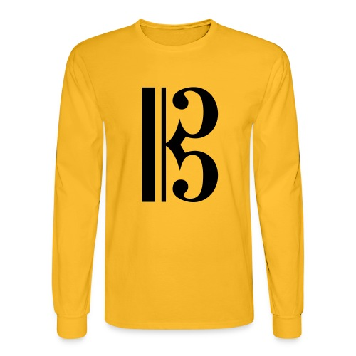 Tenor/Alto Clef - Men's Long Sleeve T-Shirt