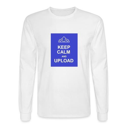 RockoWear Keep Calm - Men's Long Sleeve T-Shirt