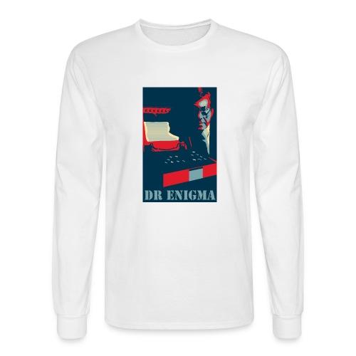 Dr Enigma+Enigma Machine - Men's Long Sleeve T-Shirt