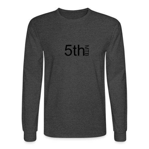 Black original logo - Men's Long Sleeve T-Shirt