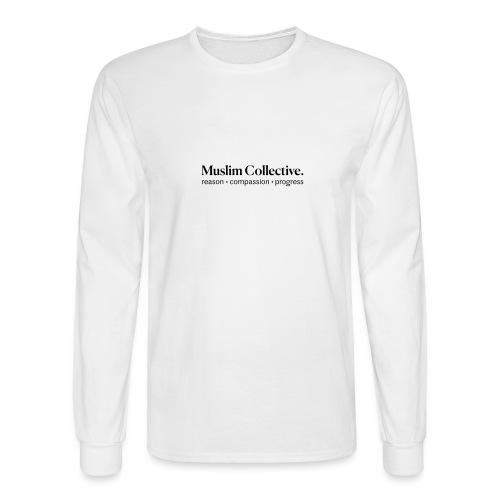 Muslim Collective Logo + tagline - Men's Long Sleeve T-Shirt